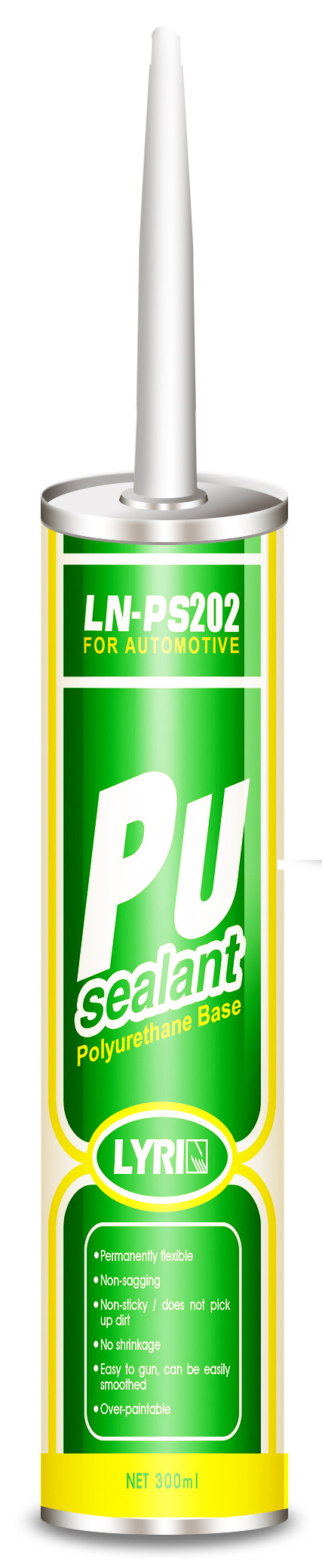 Multi Purpose Polyurethane Adhesive Sealant , Car Flexible Polyurethane Caulk